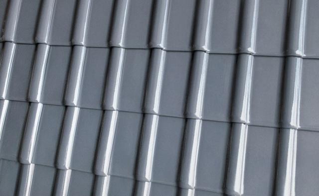 Dachówa Piemont titan glazurowana